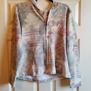 Christopher and Banks Distressed Hoodie size m